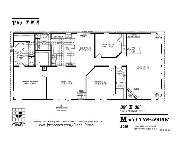 on palm harbor mobile homes floor plans 28 x 48