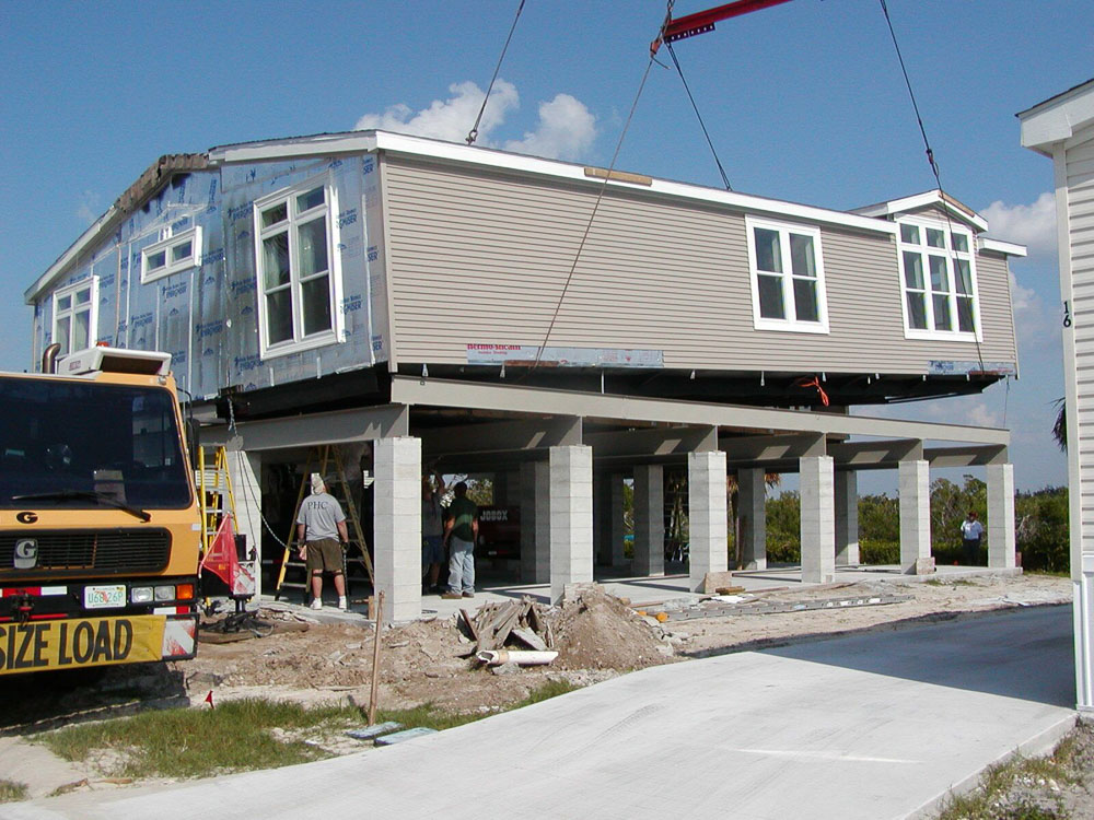 custom manufactured stilt homes modular stilt homes