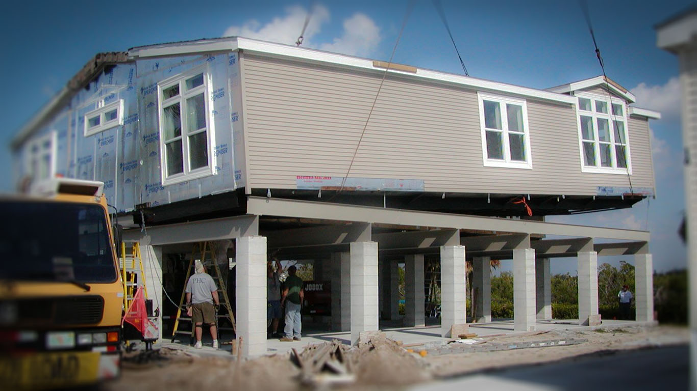 Manufactured And Modular Stilt Homes In Florida Ocala Custom Homes